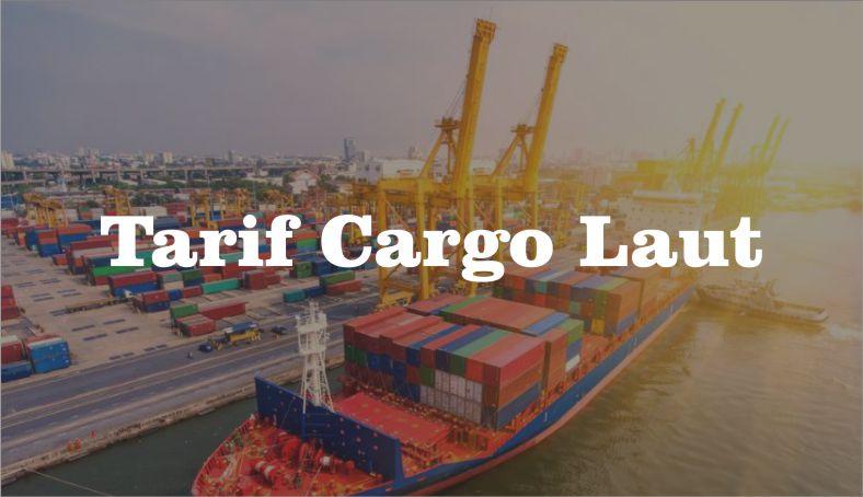 Tarif Cargo Laut